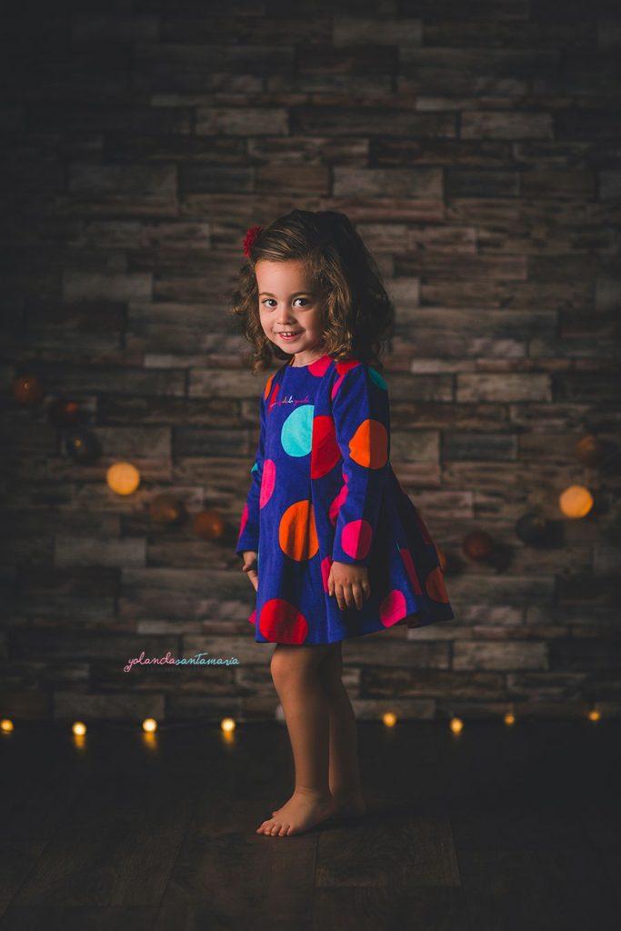 Fotografia infantil sesion navidad